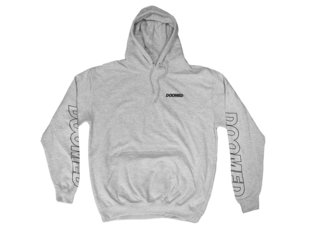 "Doomed Brand ""Marked"" Hooded Pullover - Grey"