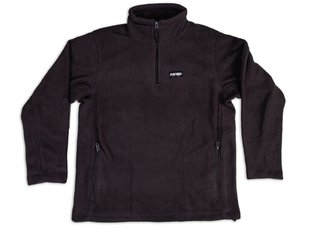 "Doomed Brand ""Mountain Quarter Zip Fleece"" Pullover - Black"