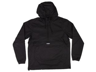 "Doomed Brand ""Mountain"" Windbreaker Jacket - Black"