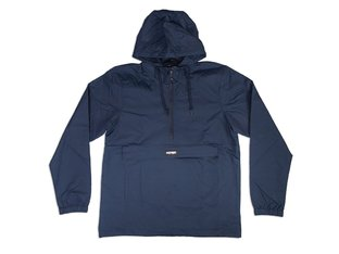 "Doomed Brand ""Mountain"" Windbreaker Jacket - Navy"