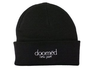 "Doomed Brand ""New Port"" Beanie - Black"