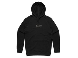 "Doomed Brand ""New Port"" Hooded Pullover - Black"