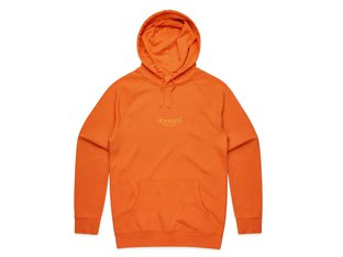"Doomed Brand ""New Port"" Hooded Pullover - Orange"