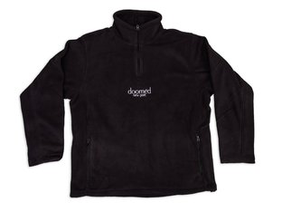 "Doomed Brand ""New Port Quarter Zip Fleece"" Pullover - Black"