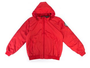 "Doomed Brand ""Oath"" Bomber Jacket - Red"