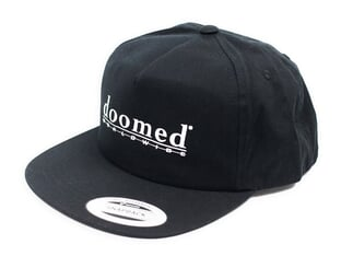 "Doomed Brand ""Odelate Snapback"" Cap - Black"