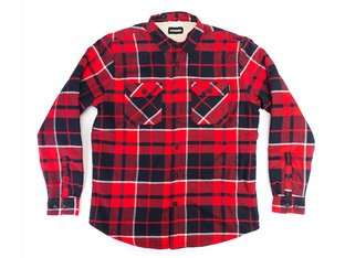 "Doomed Brand ""Paid Lad Flanell"" Hemd - Red/Black"