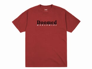 "Doomed Brand ""Pending"" T-Shirt - Red"