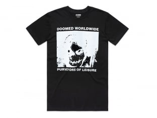 "Doomed Brand ""Phace Tee"" T-Shirt - Black"