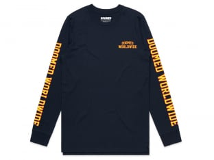 "Doomed Brand ""Play Sports"" Longsleeve - Blue"