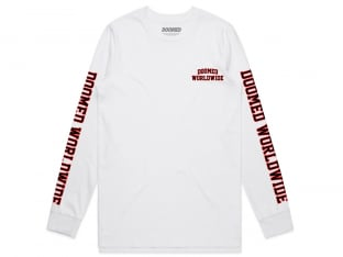 "Doomed Brand ""Play Sports"" Longsleeve - White"