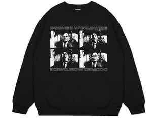 "Doomed Brand ""Psycho Worldwide Sweater"" Pullover - Black"
