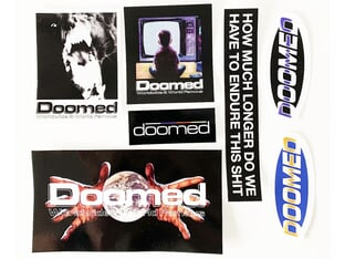 "Doomed Brand ""Q4 END"" Stickerset"
