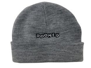 "Doomed Brand ""Roll Up"" Beanie - Grey"
