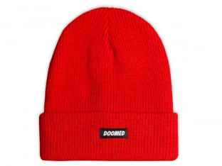 "Doomed Brand ""Savior"" Beanie - Red"