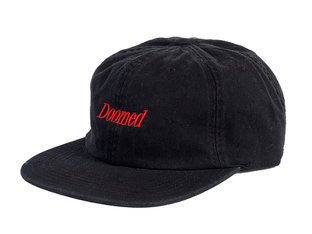 "Doomed Brand ""Serif 6 Panel"" Cap"