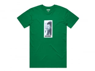 "Doomed Brand ""Smoker"" T-Shirt - Kelly Green"