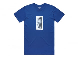 "Doomed Brand ""Smoker"" T-Shirt - Royal Blue"