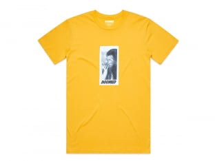 "Doomed Brand ""Smoker"" T-Shirt - Yellow"