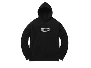 "Doomed Brand ""Smoky Eyes"" Hooded Pullover - Black"