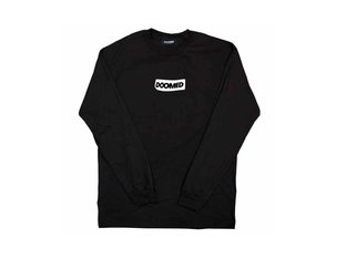 "Doomed Brand ""Sticky"" Longsleeve - Black"
