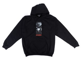 "Doomed Brand ""The End"" Hooded Pullover - Black"
