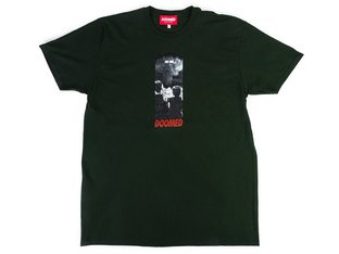 "Doomed Brand ""The End"" T-Shirt - Forest Green"