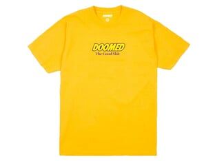 "Doomed Brand ""The Good Shit"" T-Shirt - Yellow"