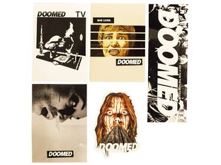 "Doomed Brand ""Vinyl"" Stickerset"