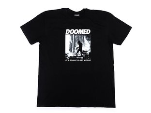 "Doomed Brand ""Walking Man"" T-Shirt - Black"
