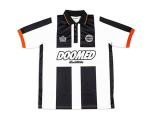 "Doomed X Admiral ""1897"" Trikot Shirt - Black/White"