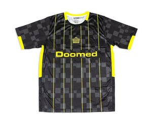 "Doomed X Admiral ""1919"" Trikot Shirt - Black/Yellow"