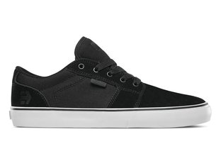 "Etnies ""Barge LS"" Shoes - Black/White/Black"