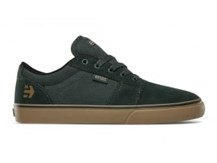 "Etnies ""Barge LS"" Shoes - Green/Gum"