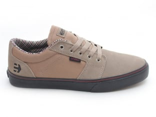 "Etnies ""Barge LS"" Shoes - Tan/Black"