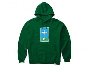 "Etnies ""Cocktail"" Hooded Pullover - Green"