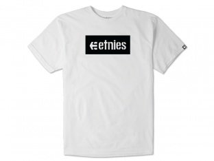"Etnies ""Corp Box"" T-Shirt - White"
