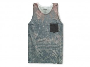 "Etnies ""Crystalizer Pocket"" Tank Top - Brick"