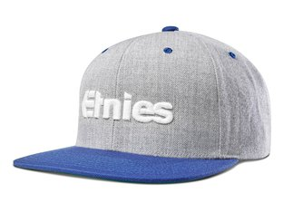 "Etnies ""Emark Snapback"" Cap - Blue/Heather"