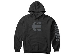 "Etnies ""Icon"" Hooded Pullover - Black"