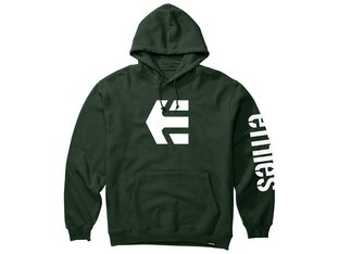 "Etnies ""Icon"" Hooded Pullover - Dark Green"
