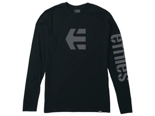 "Etnies ""Icon"" Longsleeve - Black/Grey"