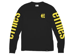 "Etnies ""Icon"" Longsleeve - Black/Yellow"