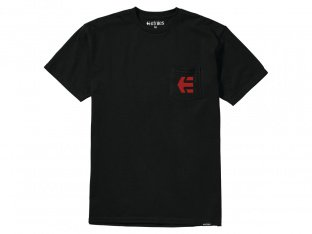 "Etnies ""Icon Pocket"" T-Shirt - Black"