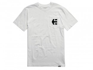 "Etnies ""Icon Pocket"" T-Shirt - White"