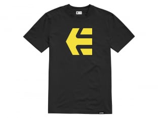 "Etnies ""Icon Tee"" T-Shirt - Black/Yellow"