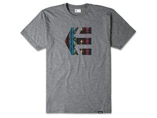 "Etnies ""Icon Tee"" T-Shirt - Grey/Grey"