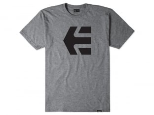 "Etnies ""Icon Tee"" T-Shirt - Grey/Heather"