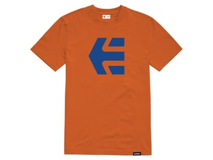 "Etnies ""Icon Tee"" T-Shirt - Orange/Navy"