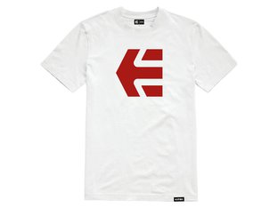 "Etnies ""Icon Tee"" T-Shirt - White/Red"